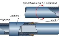 Схема холодной сварки полиэтиленовых труб