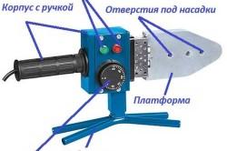 Схема паяльника для сварки труб