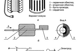 Схема ручного сварочного аппарата