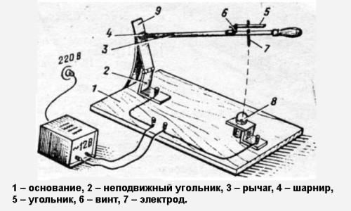 Схема самодельного аппарата для точечной сварки