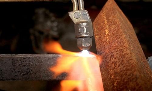 Газовая резка труб
