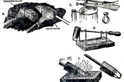 Подготовка паяльника к работе и зачистка поверхности