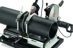 Оборудование для сварки полипропиленовых труб большого диаметра