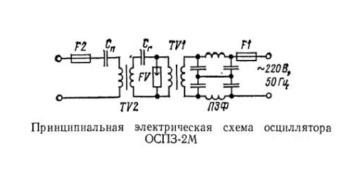 схема осциллятора ОСП3-2М