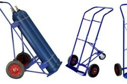 Тележка для транспортировки кислородных баллонов