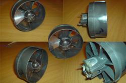 Вентилятор для изготовления фена для пайки