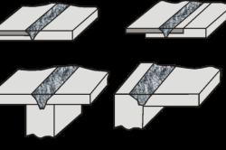Сварные соединения, получаемые при сварке трением