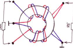 Схема намотки трасформатора