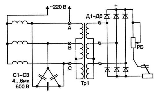Схема регулятора тока схема сварочного аппарата