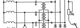 Тиристорная схема регулятора тока для сварочного аппарата